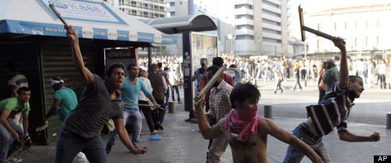 Greece Prophet Film Protest
