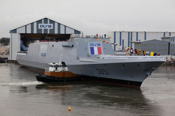 Normandie_FREMM_Launch_DCNS_French_Navy_2