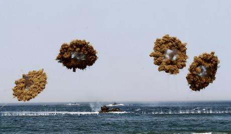 JLOTS exercise on Anmyeon beach
