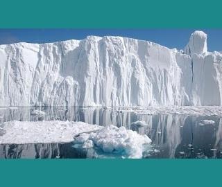 αποκόλληση ενός τμήματος πάγου