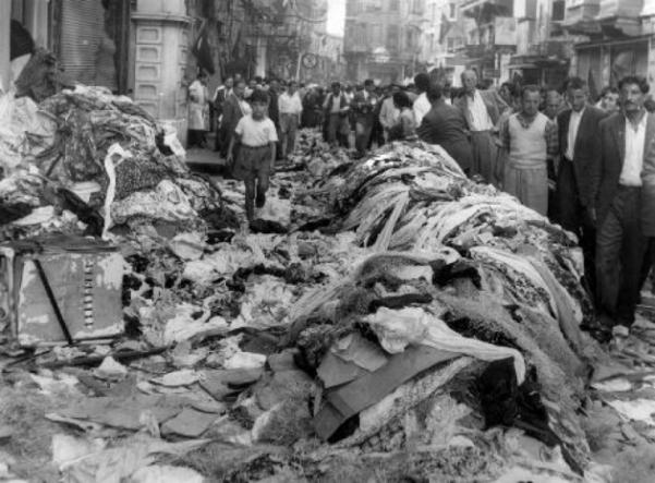 Κωνσταντινούπολη στις 6-7 Σεπτεμβρίου 1955