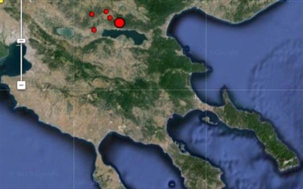 Σεισμική δόνηση μεγέθους 4,4 βαθμών της κλίμακας Ρίχτερ ταρακούνησε στις 08.15 τη Θεσσαλονίκη και την ευρύτερη περιοχή.