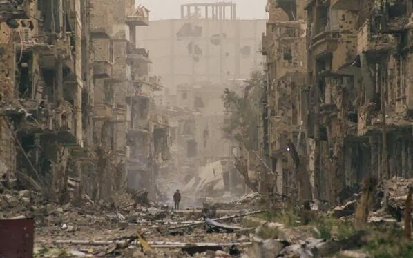 σπαρασσόμενη Συρία...ένα μικρό παιδί