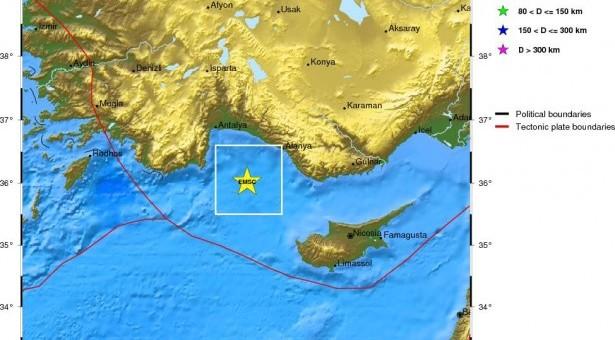 Ισχυρή σεισμική δόνηση τοπικού μεγέθους 6,3