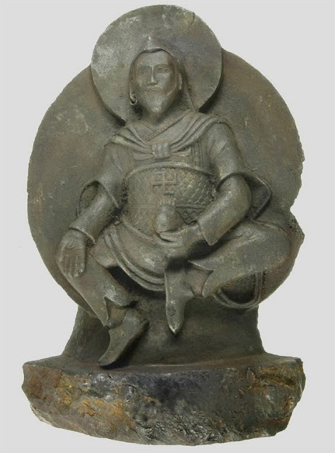 Meteorite+statue