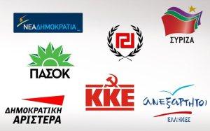 κόμματα της αριστεράς