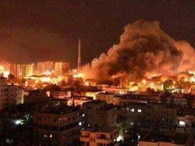 Γάζας έπληξαν το πρωί της Δευτέρας μαχητικά αεροσκάφη του Ισραήλ