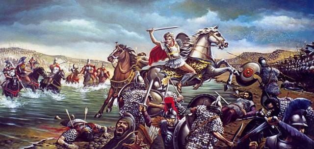 Αλέξανδρος ο Μέγας Έλληνας Μακεδών βασιλεύς