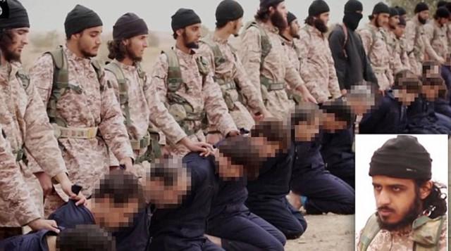 ταυτότητα των τζιχαντιστών του Ισλαμικού Κράτους που εμφανίζονται χωρίς κουκούλες