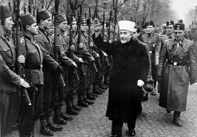 grandmufti-and-bosnian-muslim-nazi-troops