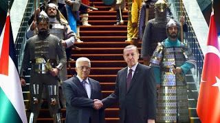 Ρετζέπ Ταγίπ Ερντογάν. Ο Μαχμούντ Αμπάς, ο Παλαιστίνιος