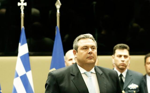 υπουργός Αμυνας Π. Καμμένος