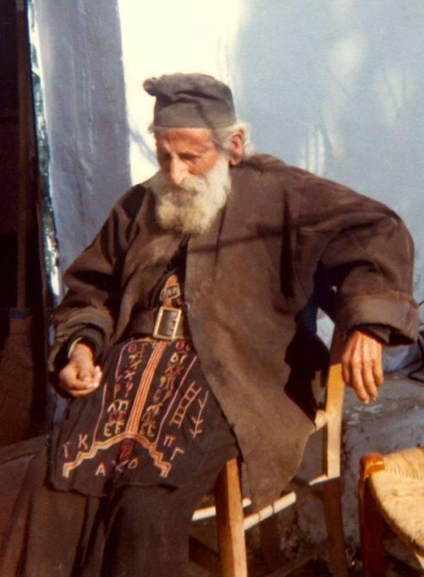 Γέροντας Γεννάδιος, Ακούμια Ρεθύμνου (+1983).