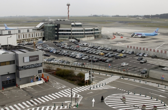 General view of Zaventem's international airport near Brussels in this March 14, 2011 file photo. REUTERS/Francois Lenoir/Files